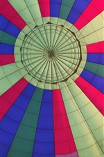 Preview iPhone wallpaper Colorful hot air balloon flight