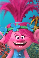 Preview iPhone wallpaper DreamWorks movie, Trolls