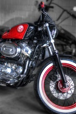 Preview iPhone wallpaper Harley Davidson F95 custom motorcycle