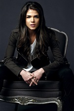 Preview iPhone wallpaper Marie Avgeropoulos 01