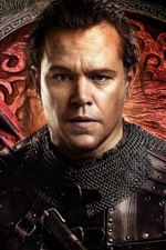 Preview iPhone wallpaper Matt Damon, The Great Wall