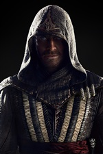Preview iPhone wallpaper Michael Fassbender, Assassin's Creed 2016 movie