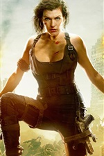Resident Evil: The Final Chapter, Milla Jovovich