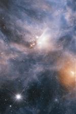 미리보기 iPhone 배경 화면 우주, 별, 우주