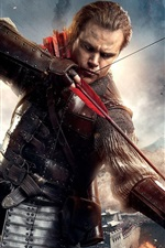 Preview iPhone wallpaper The Great Wall 2016, Matt Damon