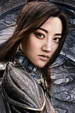 Preview iPhone wallpaper Tian Jing, The Great Wall