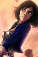 Preview iPhone wallpaper BioShock Infinite, Elizabeth, beautiful girl