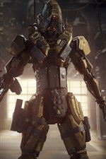 Preview iPhone wallpaper Call of Duty: Black Ops III, robot soldier