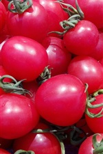Preview iPhone wallpaper Cherry tomatoes