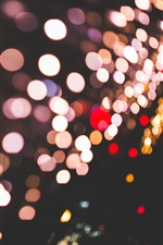 Circles, shine, lights, highlights, night