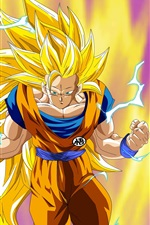Preview iPhone wallpaper Dragon Ball, Goku, Japanese anime