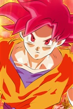 Preview iPhone wallpaper Dragon Ball Z, super saiyan, Monkey