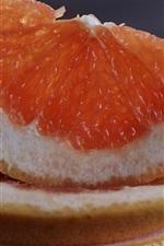 Grapefruit slice, citrus, fruit close-up
