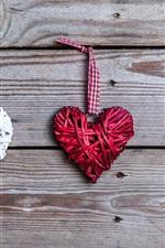Preview iPhone wallpaper Love hearts, art, romantic