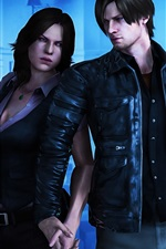 Preview iPhone wallpaper Resident Evil 6, classic PC games