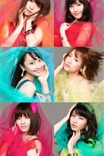 Preview iPhone wallpaper AKB48, Japanese music girls 02