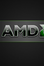 Preview iPhone wallpaper AMD brand logo