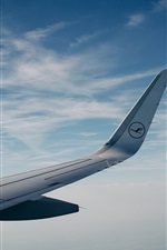 Preview iPhone wallpaper Aircraft wing