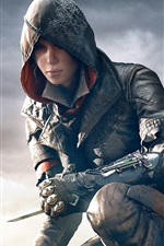 Preview iPhone wallpaper Assassin's Creed: Syndicate, beautiful girl