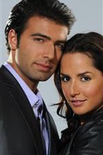 미리보기 iPhone 배경 화면 Carmen Villalobos 및 Jencarlos Canela