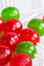 Preview iPhone wallpaper Colorful Chupa Chups lollipop