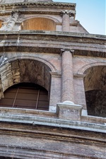 Preview iPhone wallpaper Colosseum, Italy, Rome, architecture, wall