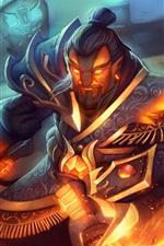 DOTA 2, warrior, magic