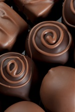 Preview iPhone wallpaper Delicacies chocolate candy
