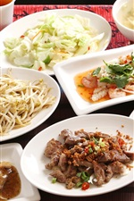 Preview iPhone wallpaper Delicious meals, Japanese cuisine