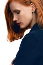 Vorschau des iPhone Hintergrundbilder Jessica Chastain 03