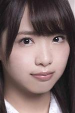 Preview iPhone wallpaper Kaori Matsumura 01