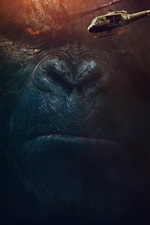 Preview iPhone wallpaper Kong: Skull Island, 2017 movie