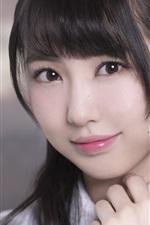 Vorschau des iPhone Hintergrundbilder Kumazaki Haruka 01