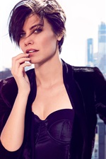 Preview iPhone wallpaper Lauren Cohan 08