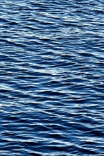 Preview iPhone wallpaper Sea, blue water, waves