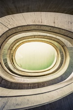 Preview iPhone wallpaper Spiral buildings, Spain, Valencia