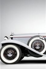 미리보기 iPhone 배경 화면 1931 Stutz DV32 럭셔리 자동차