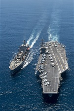 Aircraft Carrier, USS Carl Vinson, battleship, sea