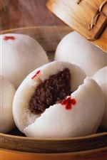 Preview iPhone wallpaper Bean paste package, Asia food