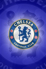 Preview iPhone wallpaper Chelsea football club logo