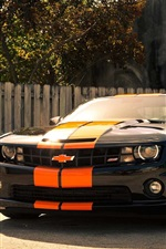 Chevrolet Camaro SS car front view