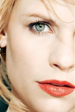 Preview iPhone wallpaper Claire Danes 01