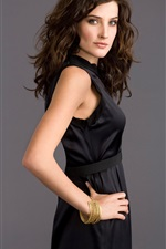 Preview iPhone wallpaper Cobie Smulders 02