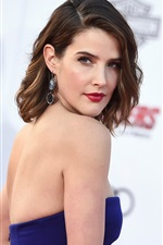 Preview iPhone wallpaper Cobie Smulders 03