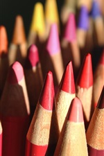 Preview iPhone wallpaper Colorful crayons