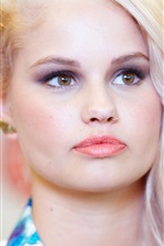 Preview iPhone wallpaper Debby Ryan 01
