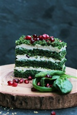 Preview iPhone wallpaper Dessert, cake, drinks