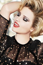 Preview iPhone wallpaper Dianna Agron 05