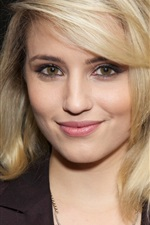 Preview iPhone wallpaper Dianna Agron 08