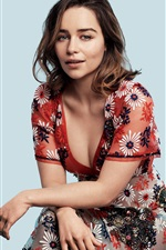 Preview iPhone wallpaper Emilia Clarke 05